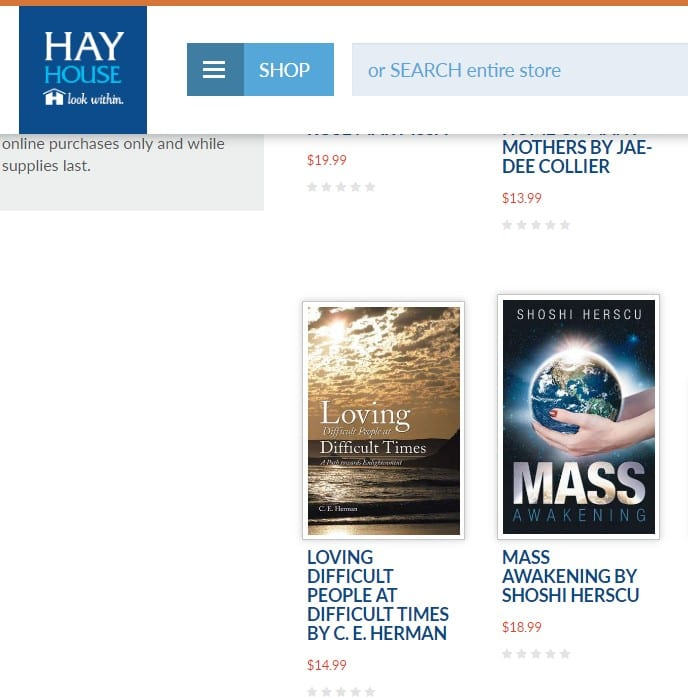 Mass Awakening on Hay House catalog