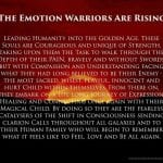 The emotion warriors are rising