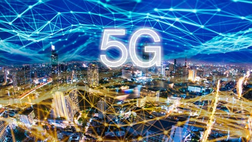 5G digital network and internet of things