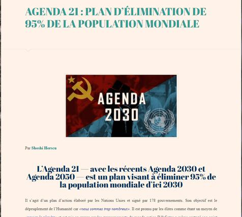 Agenda 21 in French