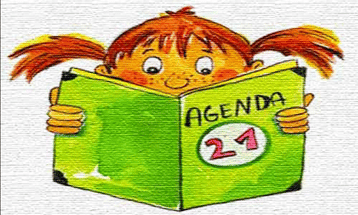 Indoctrination of children to Agenda 21