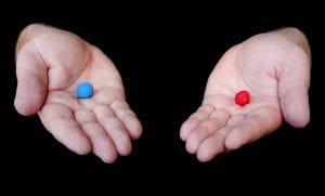 Blue pill red pill
