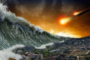 End of the world tsunami