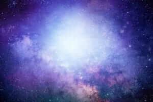 flash of light symbolizing god